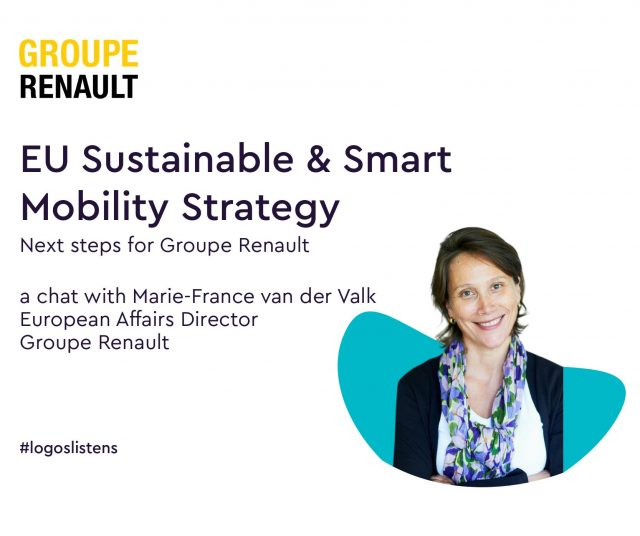 logos Interview with Marie-France van der Valk, European affairs director at Groupe Renault